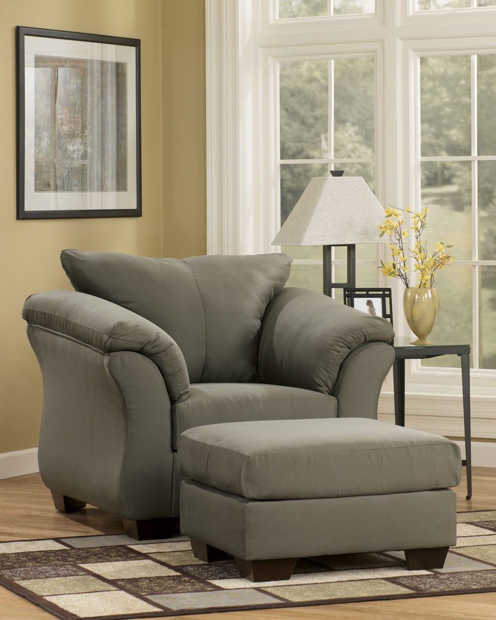 Darcy Sage Chair Signature Design By Ashley Furniture