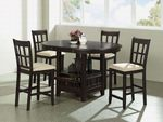 100888 5Pcs Dining Set by Coaster (Coaster Fine Furniture)