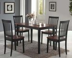 150153 5Pcs Dining Set by Coaster (Coaster Fine Furniture)