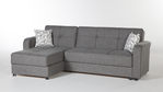 Vision Diego Gray Sectional Sofa by Istikbal Furniture (Istikbal Furniture)